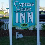 Front yard of the Cypress House Inn
