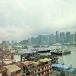 View of the Macau Inner Harbor