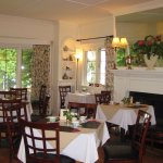 Lovely tea room in the Milner house