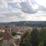 Wunderschöner Ausblick von der Festung Rosenberg auf Kronach