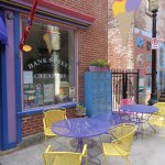 Baker Street Creamery on a charming old alley-way
