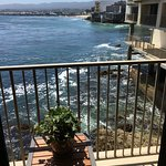 Loved hearing the waves crashing in right by the room