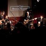 Il grande chitarrista Mike Stern con Dave Weckl, Didier Lockwood e Tom Kennedy