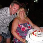 me and hubby at michaelos