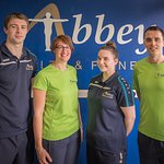 The staff at our leisure centre