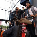 Photo de Captain Hook Barco Pirata Pirate Ship