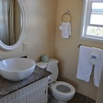 Bathroom in our king sized bedroom at Seaway Inn