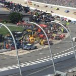 view of pit stops