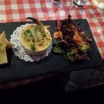 All dishes beautifully presented and tasted fantastic ...