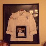 Chef Louis Perot jacket...and awards !