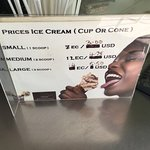Ice Cream prices.