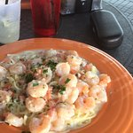 Shrimp Scampi...BIG portion