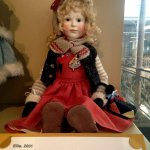 Just one of the dolls on display.