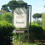 Entrance to Locanda Rosatil