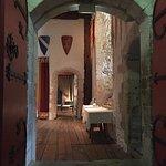 Interior castle room