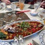 Deep-fried whole Rockfish ($45)