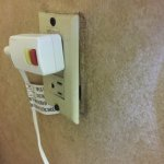 plug was separated from the wall
