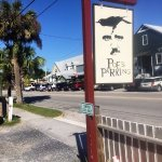 Street sign for Poe's Tavern