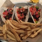 Steak Tacos and  Fries
