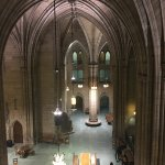 The massive gothic Commons Room