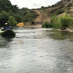 The scenery on the Verde River, AZ