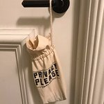 privacy please door hanger