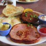 Breakfast, Shari's Restaurant, Kent, Washington