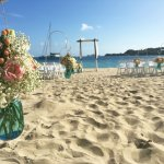 Wedding isle on Lindbergh Bay