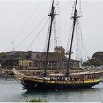Spirit of Dana Point preparing to dock.
