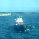 Tug Boat, Ogden Point Terminal & Breakwater, Victoria, BC
