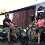Small-Group Strasburg Covered Bridge Tour by Single-Seat Scooter
