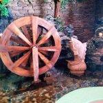 Waterwheel water  feature