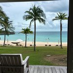 View from inside Caribbean Cove Suite #5 - amazing!