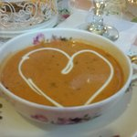 Yummy tomato bisque
