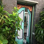 Behind these beautiful doors is your own private paradise