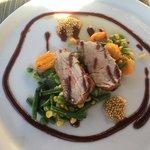 Pork Tenderloin split meal--excellent