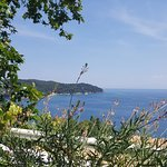 Just one of the beautiful views from the pool deck/Taverna