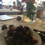 Lovely Lunch  Little very atmosphere ... Delicious food  Excellent staff  And good value for Mon