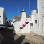 One of the side streets in Trulli Holiday Resort.