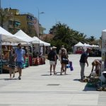 Monday market on Promenade