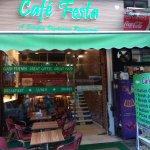 Outside Look of Cafe Festa Restaurant.