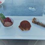 dessert, keuze gemaakt uit kleine desserts