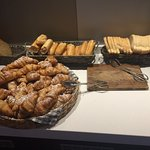 well presented fresh breads to choose from