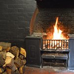 3 roaring Fire Places in the heart of winter