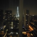 Effeil Tower by night from room (2)