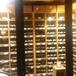 Räumlichkeiten welche für jeden Wein richtig temperiert sind
