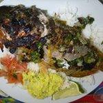 Saveur excellent le poisson grillé