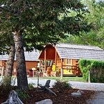 Don't have a camper or a tent? No problem! Come stay in one of our rustic cabins!