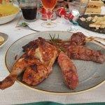 BBQ restaruant mixed meat (yummy)