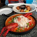 Shrimp & Crawfish New Orleans - excellent!